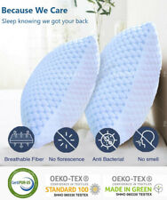 🥇Simply Cooling Memory Foam Pillow - Ventilated Infused Cooling Gel King/Queen