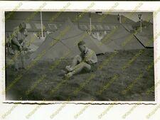 Foto, Jugend, Lagerführer Becker im Landjahr Lager in Hildesheim, d (N)19346