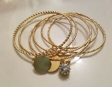 CHICO'S bangles with charms