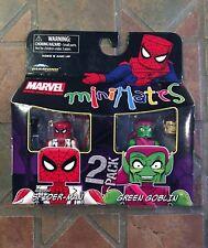 Marvel Minimates UNMASKED SPIDER-MAN & GREEN GOBLIN TRU wave 11