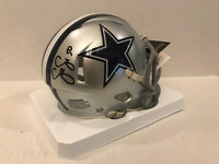 Sean Lee signed Dallas Cowboys speed mini helmet COA/Holo