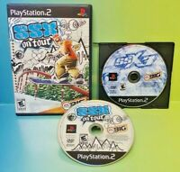 SSX On Tour + SSX 3 Snowboarding  -  PS2 Playstation 2 Tested Game Lot Working