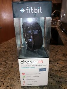 FITBIT CHARGE HR FITNESS HEARTBEAT ACTIVITY BAND IN BOX SMALL