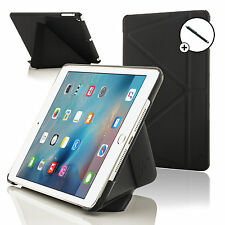 NERO SMART CASE STAND COVER PER APPLE IPAD MINI 4 Con Stylus Gratuito