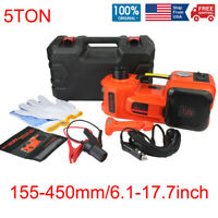 Impact Wrench / 5Ton Car Jack Electric Hydraulic Jack / Car Floor Jack + Wrench