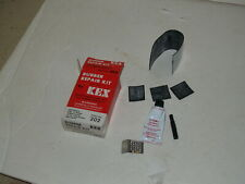 Kex Rubber Repair Kit - for Bicycle tires - Rubber,Cement,Buffer