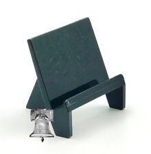 5 Card Holder Stand Business Sport Football Baseball Hockey Display Stands Black