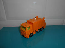 21.05.17.5 camion poubelle orange 0811 SIKU 1/60 1/55 environ