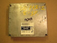 02 TOYOTA MR2 W/SEQUENTIAL SHIFT 5 SPD ECU ECM COMPUTER 89661-17671