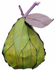 Leaf Pear Natural Green Country Hand Made Fruit Craft Floral Decor Filler 447x