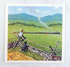 Vintage Norman Rockwell Boyhood Dreams Childhood Treasures Series Print 1