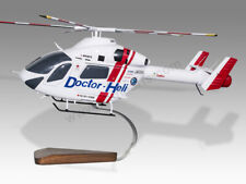 McDonnell Douglas MD 900 MD900 Doctor Heli Handcrafted Solid Wood Display Model