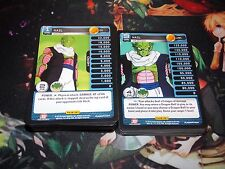 Dragon Ball Z Panini Heroes and Villains Common/Uncommon set 1-100 (x1)