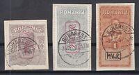 B2573/ ROMANIA GERMAN OCC – WAR TAX - MI # 6 – V - IX USED – CV 110 $