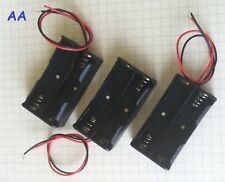 3 pieces 2xAA Battery Holder Case 3V NEW USA Seller