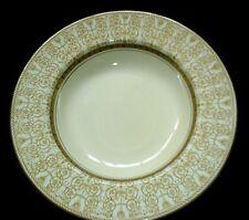 WOOD'S SEABRIDGE BURSLEM Gold/Black/Cream Patt 9 in Bowl x1 c1920 (3 available)