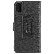 PJ Commander Book Case Elite schwarz für Apple iPhone X/ XS Handyhülle