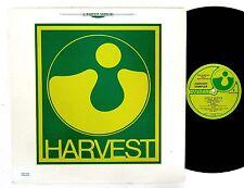 HARVEST SAMPLER LP USA '77 A++ Hear! PINK FLOYD Be-Bop Deluxe KATE BUSH Focus +