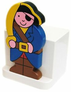 Pirate Wooden Money Box - Hand Made In Uk