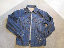 VINTAGE Levis BIG E Jean Jacket Denim Adult Small Indigo Blue 521 Type 3 III