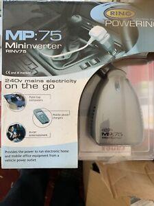 Ring RINV75 Mini Inverter. 12v to mains.