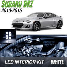 2013-2015 Subaru BRZ White LED Lights Interior Kit
