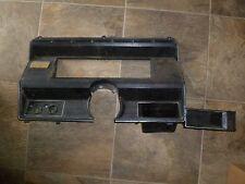 X201 80-86 FORD PICK UP TRUCK BRONCO F150 F250 F350 SPEEDOMETER DASH BEZEL BLACK