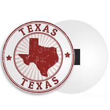 Texas USA Fridge Magnet - Map Flag American America Travel Holiday Gift #4385