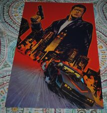 Knight Rider Michael Knight Kitt Art Poster Print Garry Brown NYCC 2015