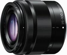 Panasonic 35-100mm f4-5.6 LUMIX G VARIO ASPH OIS Lens White Box - Black