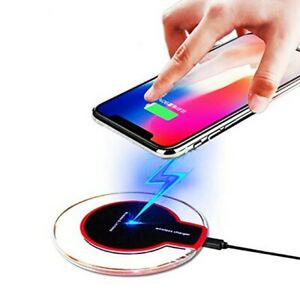 Wireless Phone Charger Pad for iPhone 11 XS X 8 Galaxy Note 9 S10 S20 Qi Charge