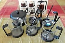 BODUM BISTRO Brazil 11 piece COFFEE/ESPRESSO Cups Sugar&Creamer Set  K1588