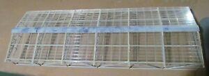 Unknown Clear Glass Train Shed Canopy Fully Assembled (no supports)