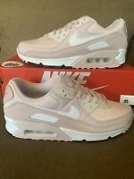 New Nike Air Max 90 Barely Rose (2020) Women's Sneaker CZ6221-600