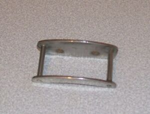 Vintage centre pin  steel and chrome line guide