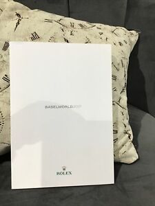 Rolex Baselworld 2017 Catalouge/broucher/ Book Sky Deweller/oyster Perpetual