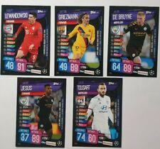 Topps Match Attax On Demand Champions League 2020 # Set 11 # 5 Karten OD51-OD55