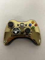 Xbox 360 Star Wars Limited Edition Wireless Controller Chrome Gold C-3PO VG
