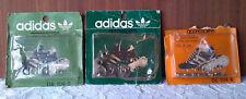 Lot 3 ancienne boite de crampons Adidas année 70 chaussures de football