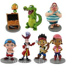 7PCS/Set Jake And The NeverLand Pirates PVC Figure Adornment Model