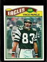 1977 TOPPS #397 VINCE PAPALE EXMT (RC) EAGLES *SBA9206