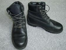 Ladies Timberland black leather waterproof walking boot size UK 6 US 8