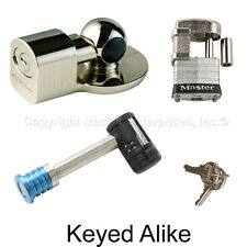 Master Lock - 3 Trailer Locks Keyed Alike  3KA-377-37