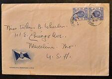 1930 Hong Kong to WI USA Envelop
