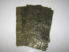 40 Sheets Dried Nori Seaweed - Marine Fish Food
