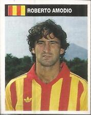 [AA] FIGURINA CAMPIONI & CAMPIONATO 1990/91-LECCE-AMODIO
