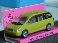 Rietze VW Sharan IAA Frankfurt 1995, gelb - Messemodell- 1:87