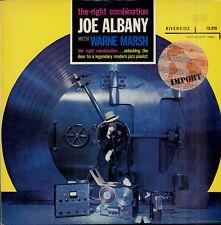 Joe ALBANY The right combination Japanese LP RIVERSIDE 270 Warne MARSH