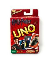 Harry Potter UNO Card Game 40th Anniversary 2010 Mattel complete