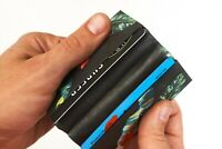 NewWallet Blacktropic ID Document Tyvek Protection Card Holder